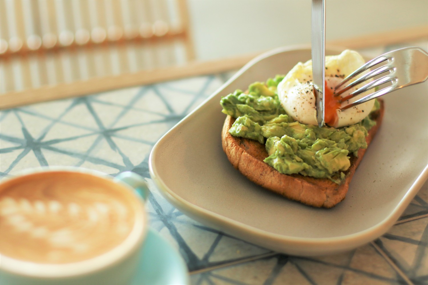 Avacado and Egg on Toast